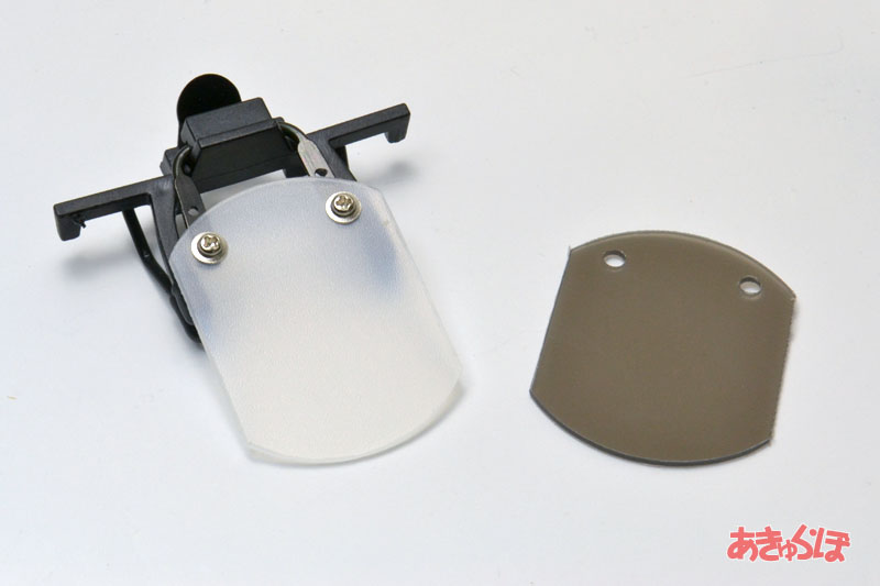 ブラインダー(射撃用目隠し板)軽量バージョン・クリップ付きの画像
