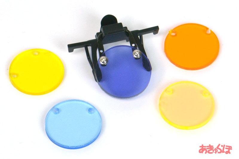 カラーフィルター5枚組(色の変化を重視)の画像