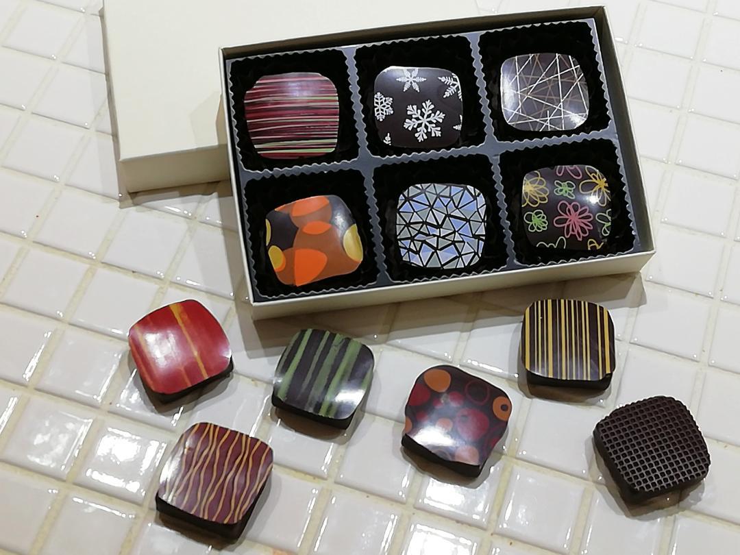 季節のショコラ・キャレ6個詰め合わせ画像