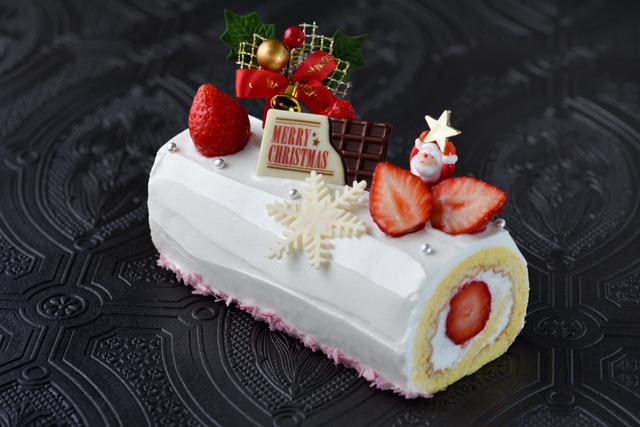 【早期予約¥300 OFF】ストロベリーロールケーキ画像