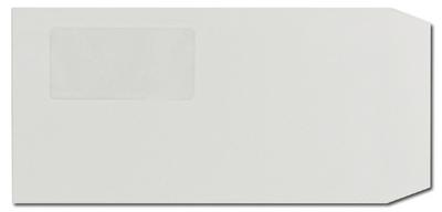 長3封筒 セロ窓Fカラーグレー 80gの画像