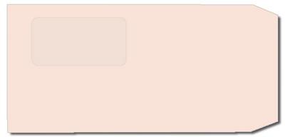長3封筒 セロ窓Fカラーピンク 80gの画像