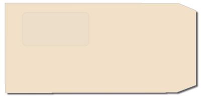 長3封筒 セロ窓Fカラーベージュ 80gの画像