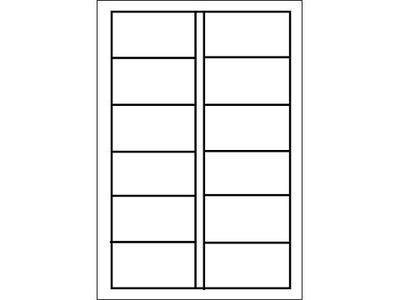 LT22 単票タックシール(2連)の画像