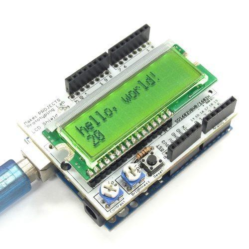 LCDシールドキット(緑)の画像