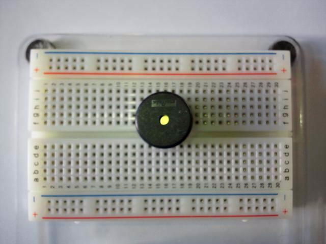 圧電スピーカー(サウンダ)PKM17の画像