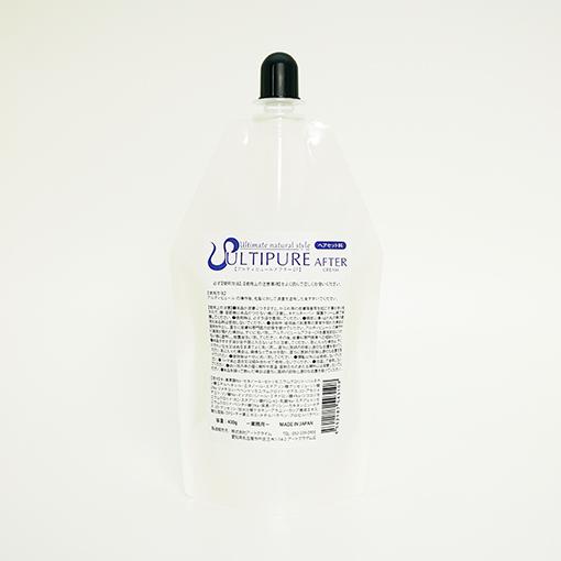 【アルティピュールアフターCR】 クリーム2剤 / 400gの画像