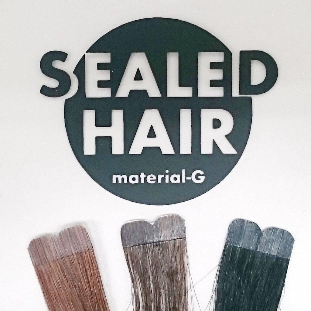【シールエクステ】 SEALED HAIR シールドヘアー 50cm / 40本入の画像