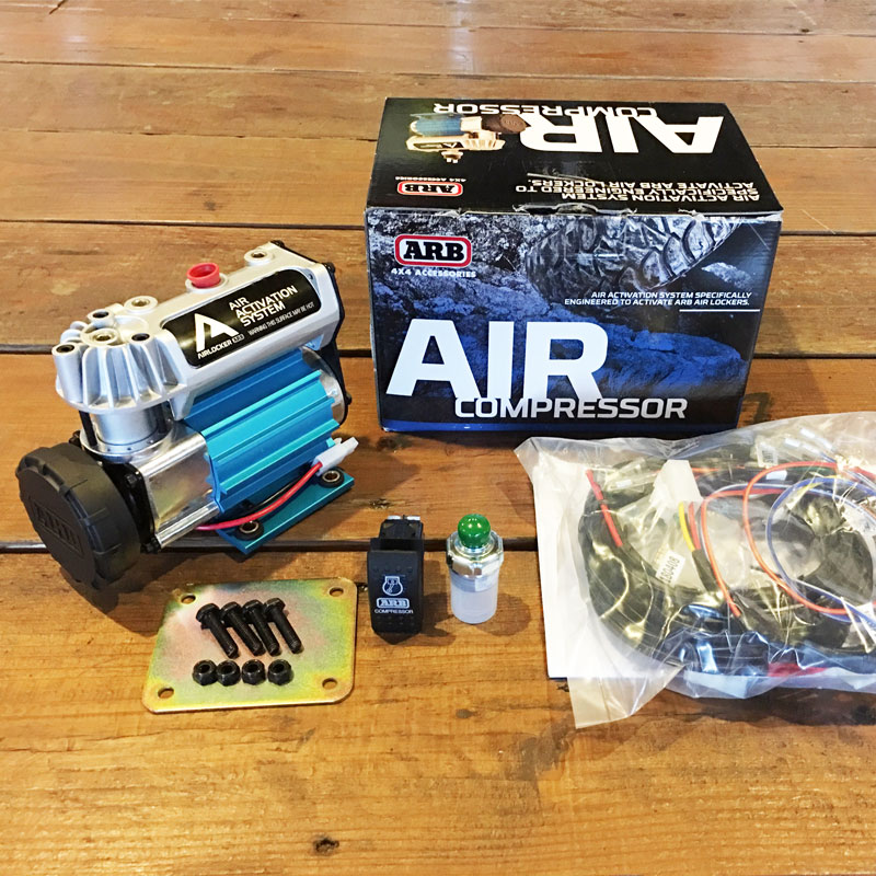 ARB エアコンプレッサー エアロッカー用の画像