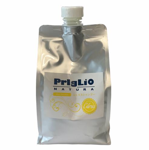 【敏感肌用】プリグリオN 低刺激アミノ酸シャンプー「シトラスシャンプー」レフィル 900mlの画像