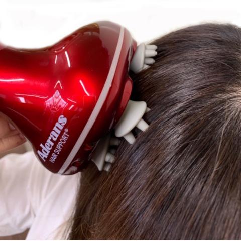 【話題沸騰・美容室専売商品】アデランスがプロのハンドテクニックを再現して開発!ヘッドスパマシン「SPANIST(スパニスト)」 さらに進化した最新機種!「ACアダプター充電+USB充電」画像
