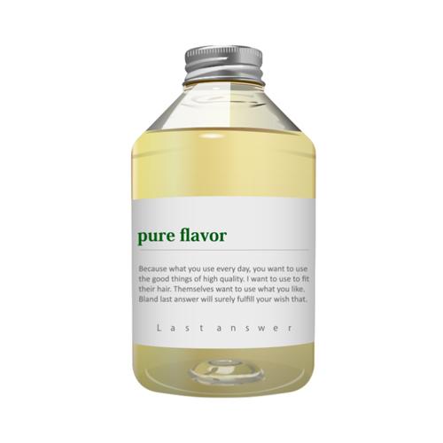 【オーガニックシャンプー】ラストアンサー シャンプー07「pure flavor」470mlの画像