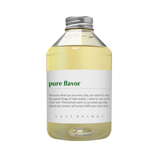 【オーガニックシャンプー】ラストアンサー シャンプー07「pure flavor」470ml画像