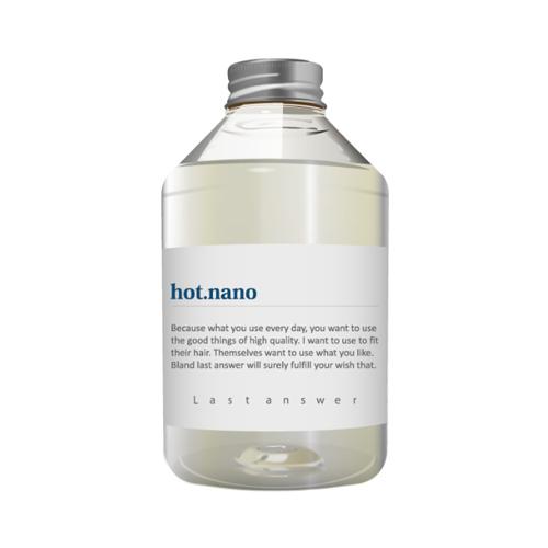 【ダメージ補修】ラストアンサー シャンプー08「hot.nano」470ml<美容室専売品>の画像