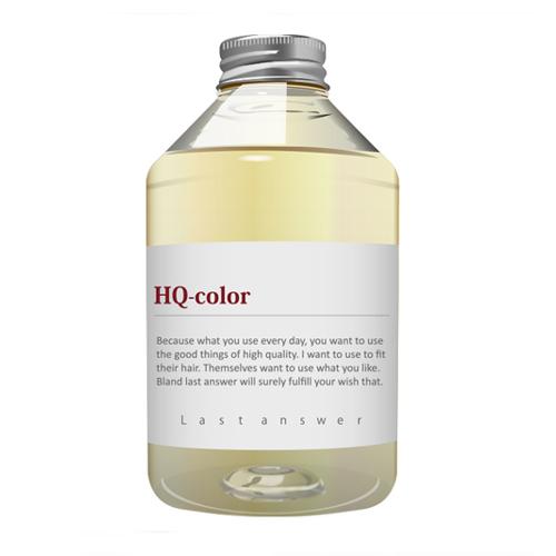 【カラー救世主】集中ケアトリートメント ラストアンサー「HQ-color」470ml<美容室専売品>の画像