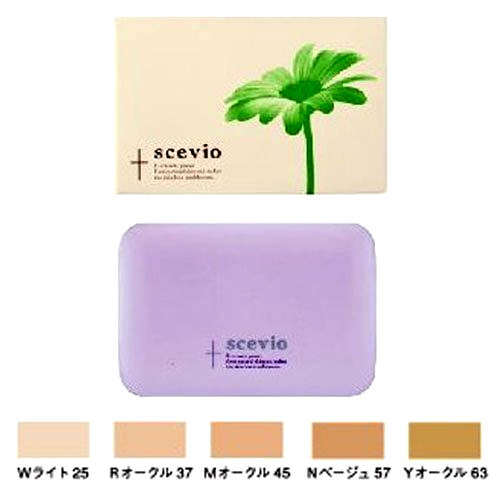 【2Wayファンデーション】scevio(スセビオ) 「Nベージュ57」12.5g<美容室専売品>画像