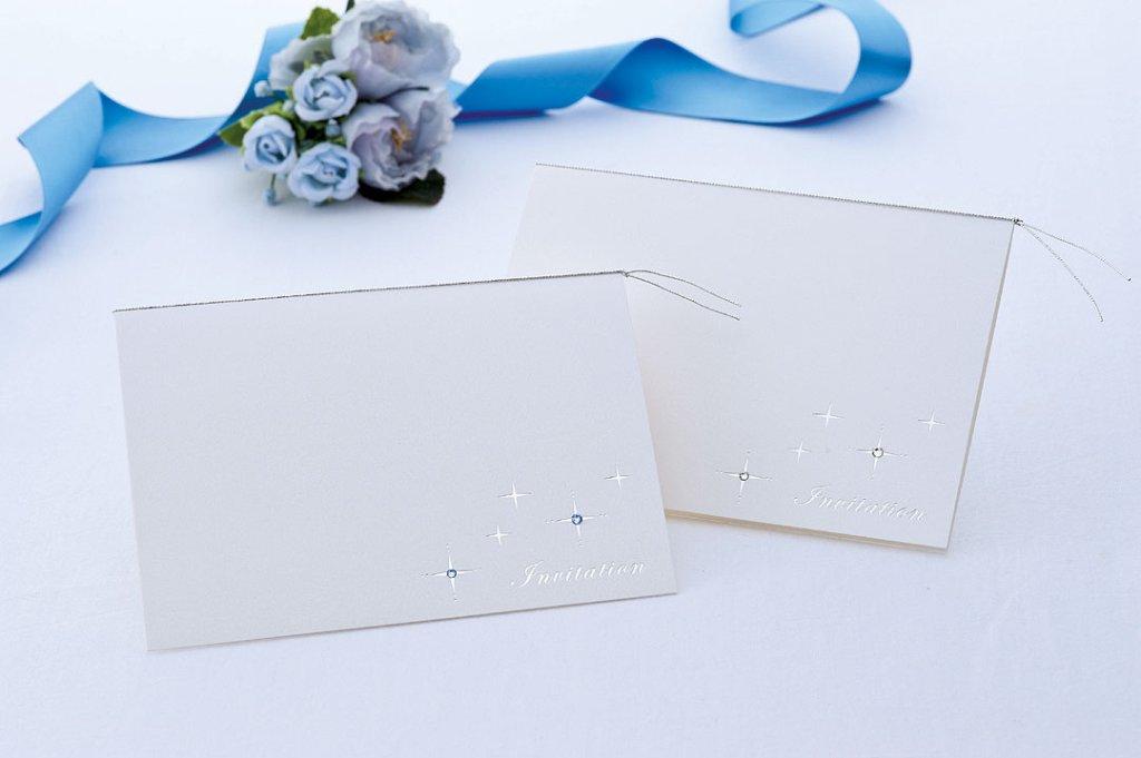 【印刷なし】招待状 スタードリームの画像