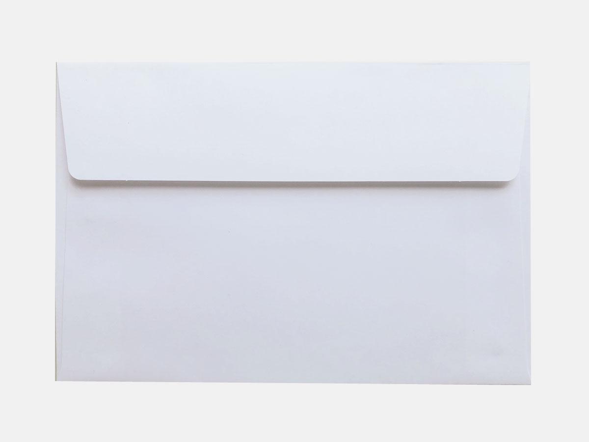 洋形1号封筒(カマス貼/ホワイト)画像