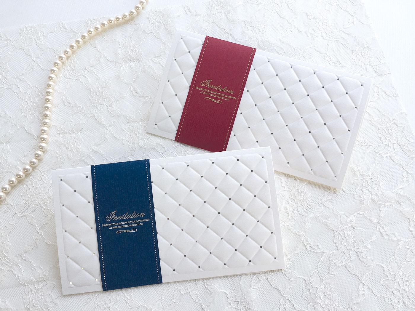 【印刷込】招待状 レディアン ※封筒宛名印刷可(条件付き)画像