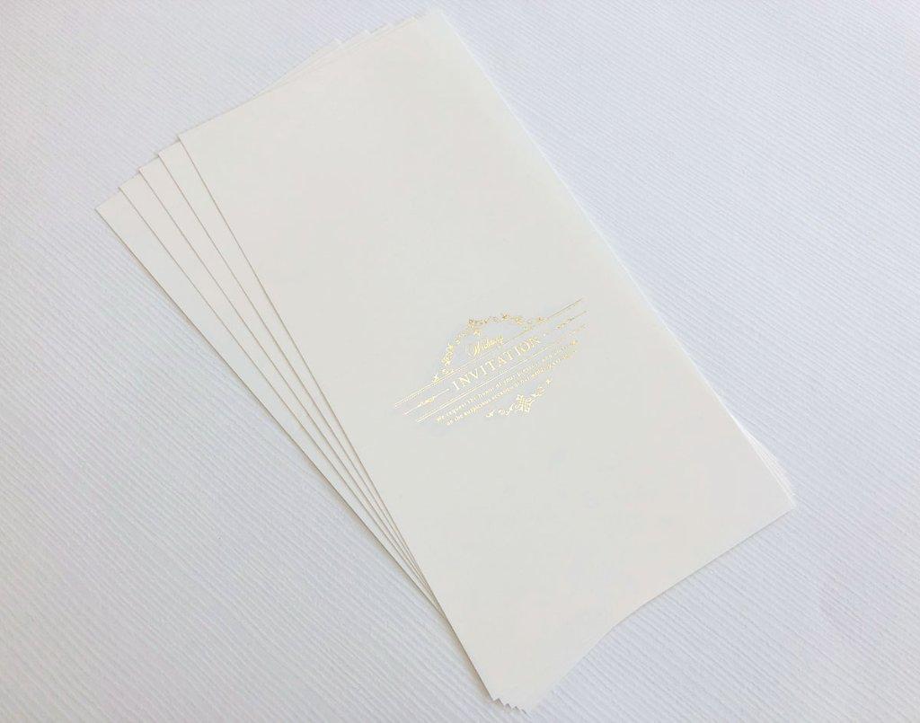 招待状 中紙用紙(アディール)の画像
