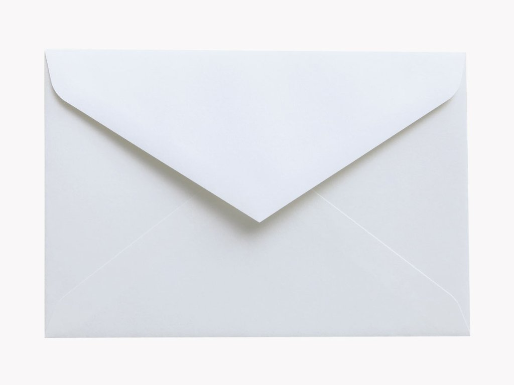 洋形1号封筒(ダイヤ貼/ホワイト)の画像