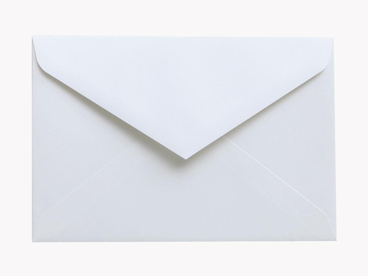 洋形1号封筒(ダイヤ貼/ホワイト)画像