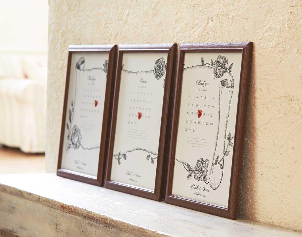 ご両親贈呈用 サンクスボード(3枚組)の画像