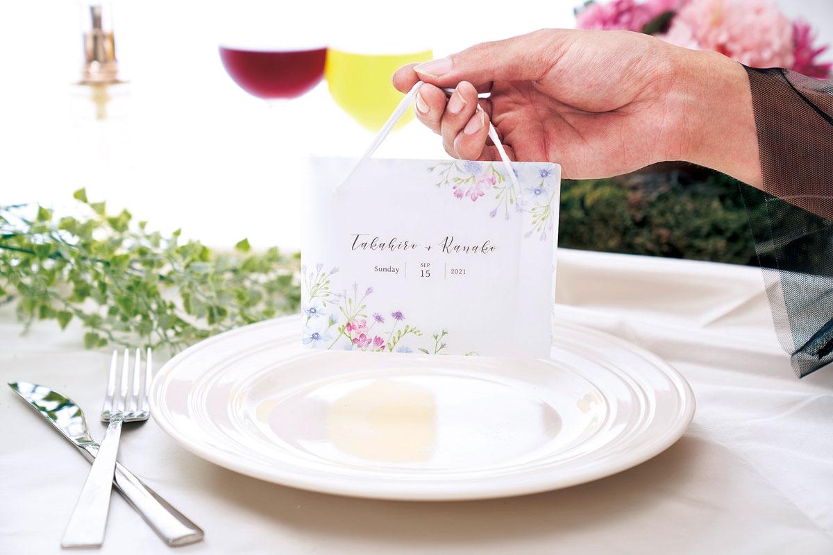 結婚式用 マスクキーパー(ガーデンフローラ)画像