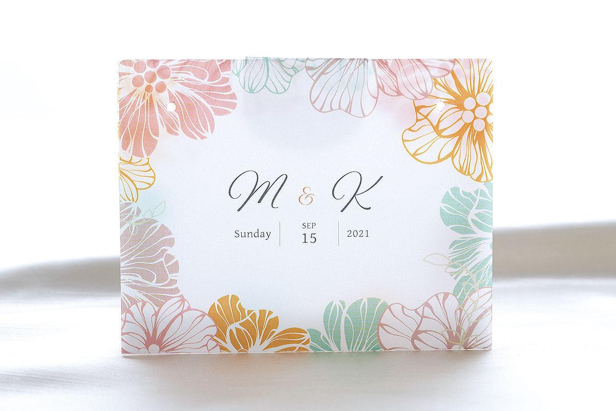 結婚式用 マスクキーパー(トロピカル)画像