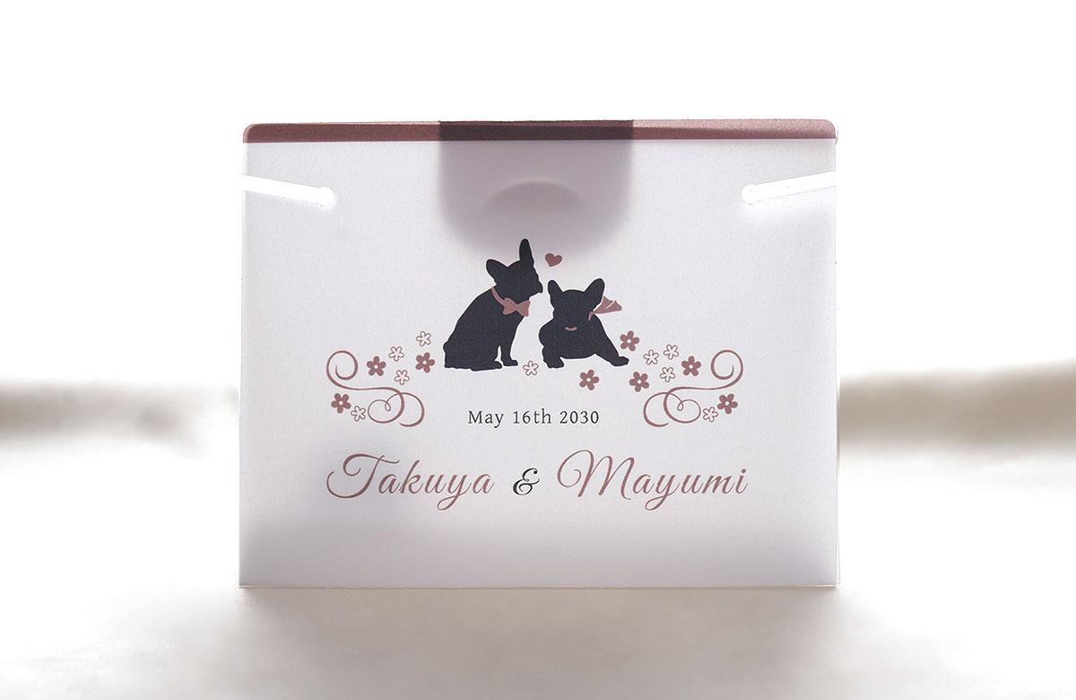 結婚式用 マスクキーパー(プレマリードッグ)画像