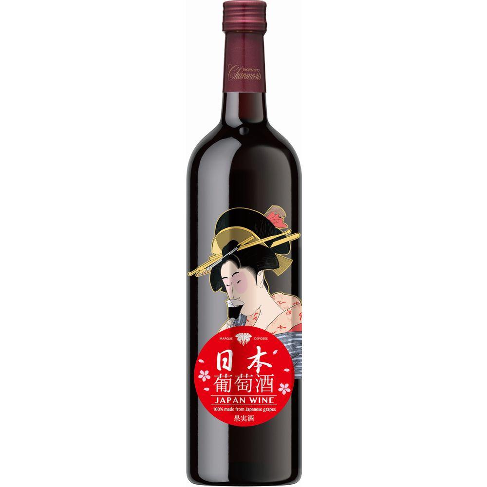シャンモリ 日本葡萄酒 赤の画像