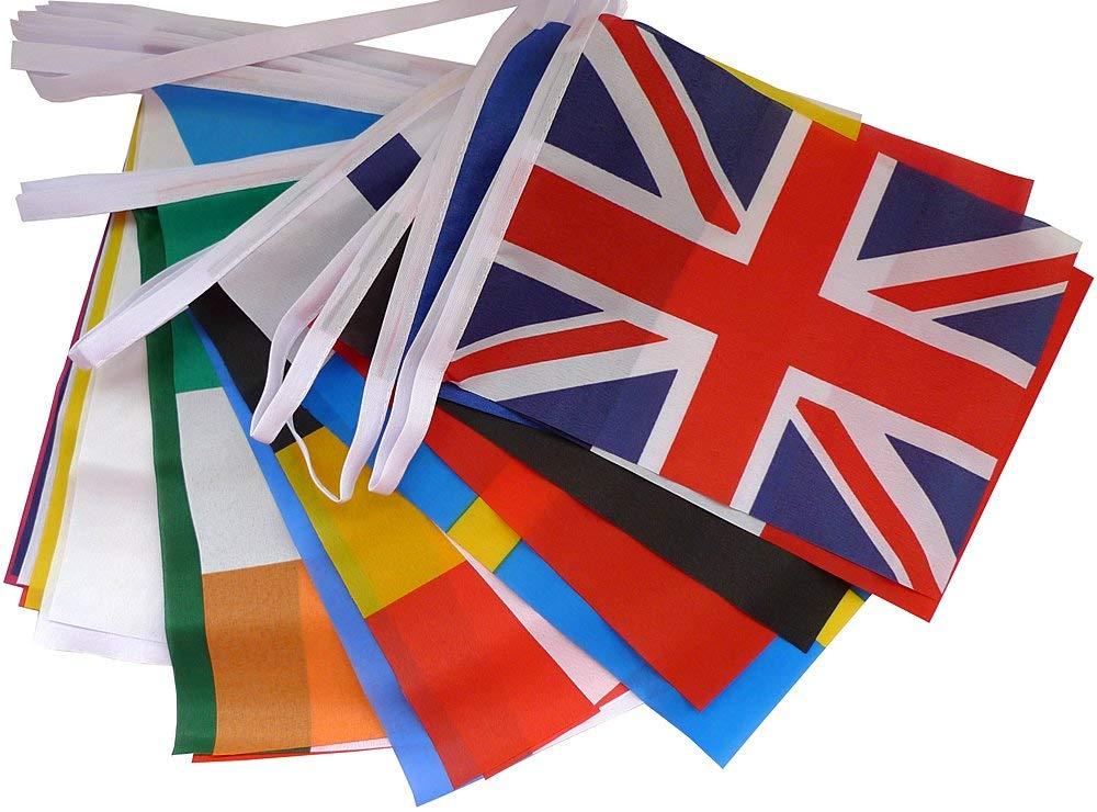 EU28カ国 国旗 ヨーロッパ28カ国 イベント用連結フラッグ の画像