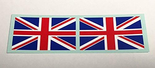 フラッグ型ステッカー イギリス 2枚セットの画像