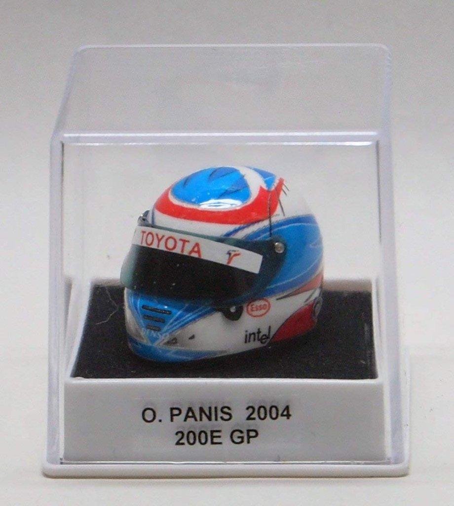 1/12ヘルメット オリビエ・パニス 2004年仕様の画像