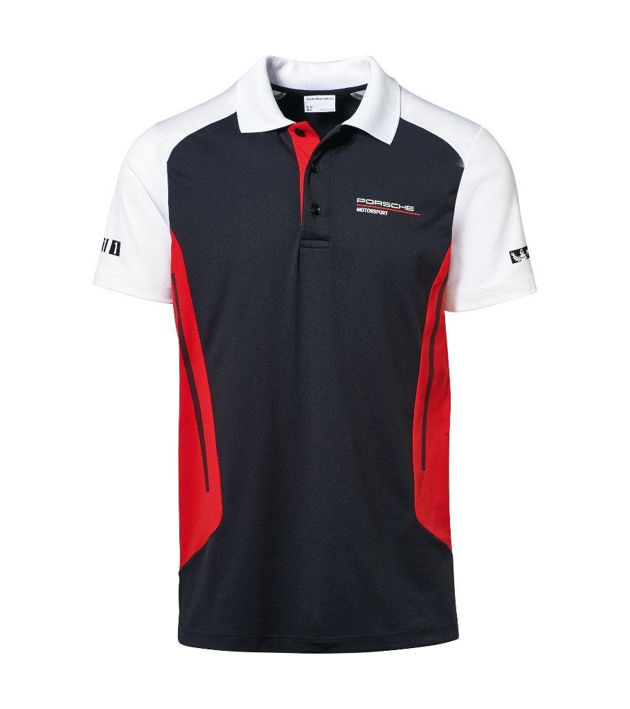 ポルシェ モーター スポーツ スポンサー ポロシャツ PORSCHEの画像