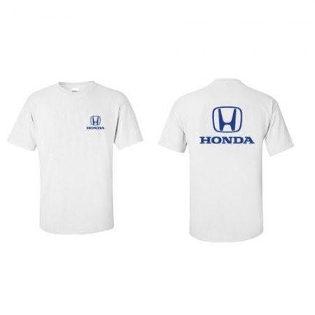 US限定 HONDA クラシックロゴTシャツ ホワイトの画像