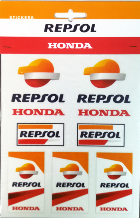 レプソル ホンダ ステッカーセットの画像