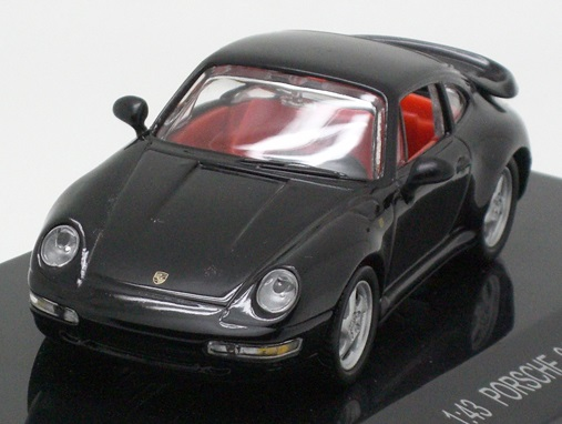 Collection 711 1/43 ポルシェ 911 ターボ クーペ 1995 ブラックの画像