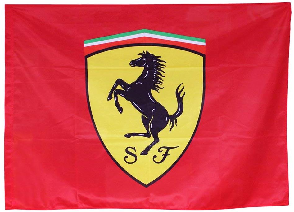 スクーデリア フェラーリ スクデット フラッグの画像
