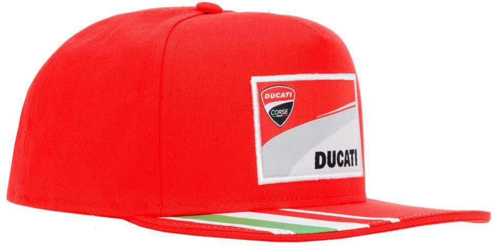 DUCATI CORSE Racing オフィシャル フラットバイザー CAPの画像