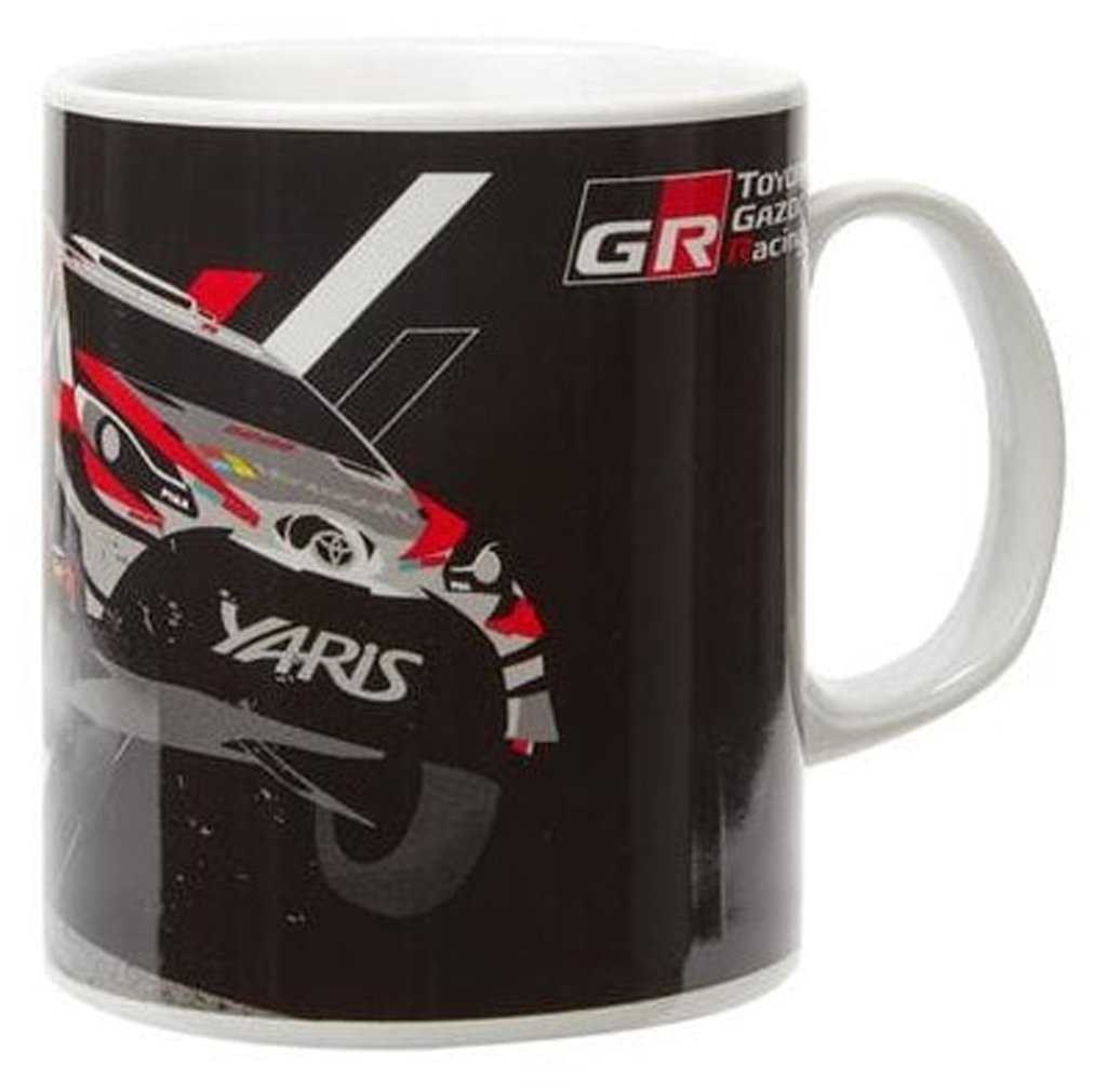 TOYOTA GAZOO Racing WRC ヤリス マグカップ ブラックの画像