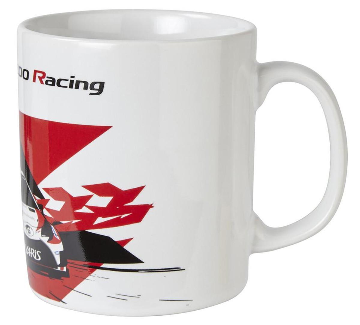 TOYOTA GAZOO Racing WRC ヤリス マグカップ ホワイト画像