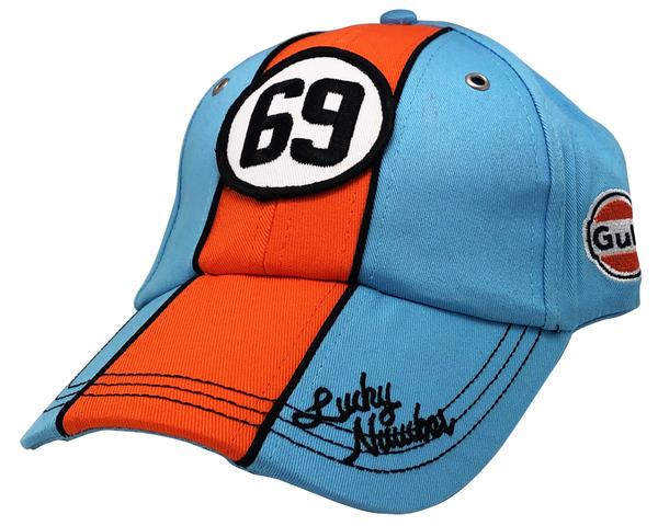 ガルフ レーシング オフィシャル ラッキーナンバー キャップの画像