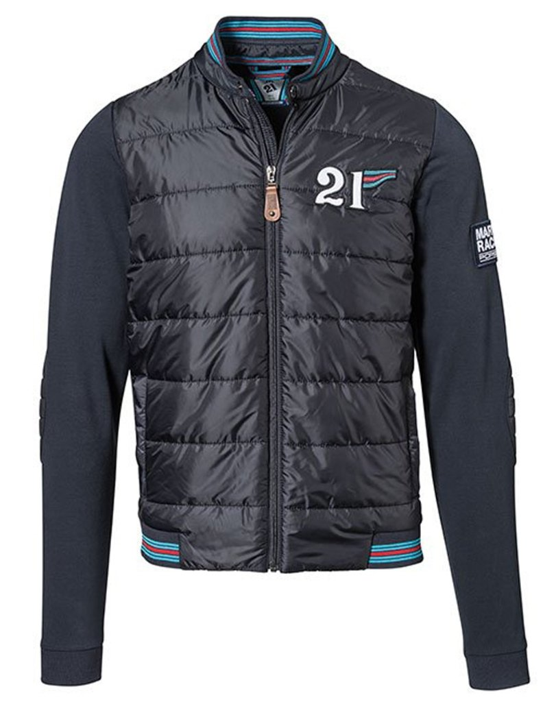 ポルシェ マルティニ レーシング オフィシャル ミックススウェットジャケット の画像