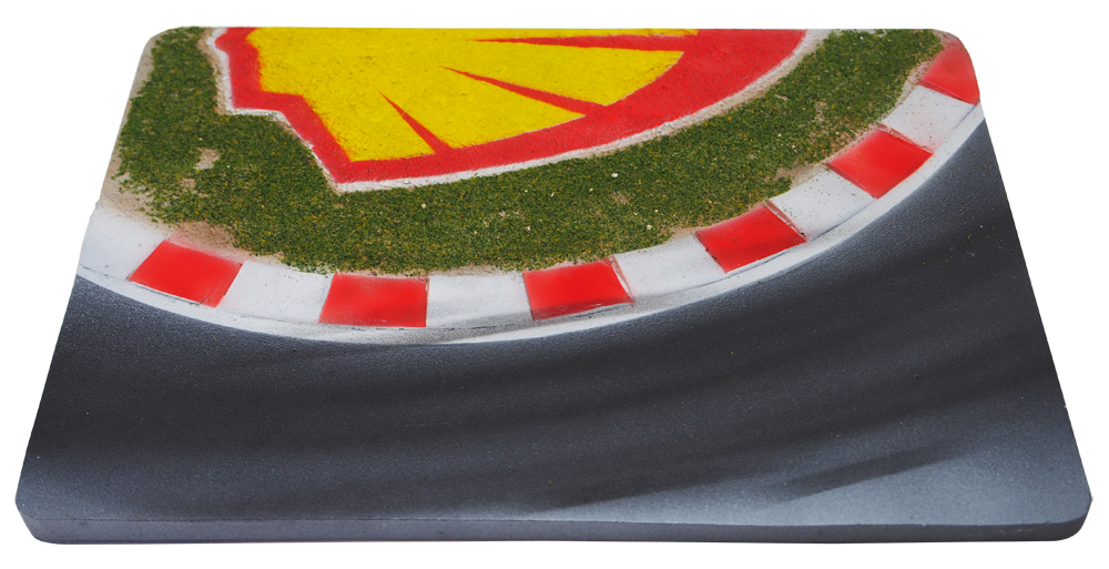 リアルプロダクト 1/43用 ディスプレイジオラマ D58 Virage Shell -Shell corner-の画像