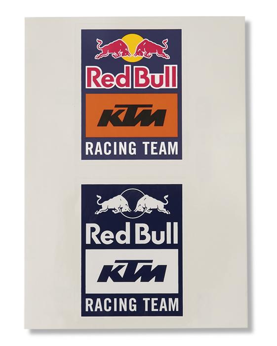 Red Bull レッドブル KTM Racing Team オフィシャル ステッカー の画像