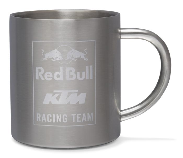 レッドブル KTM Racing Team オフィシャル Mosaic ステンレス マグカップ シルバー の画像