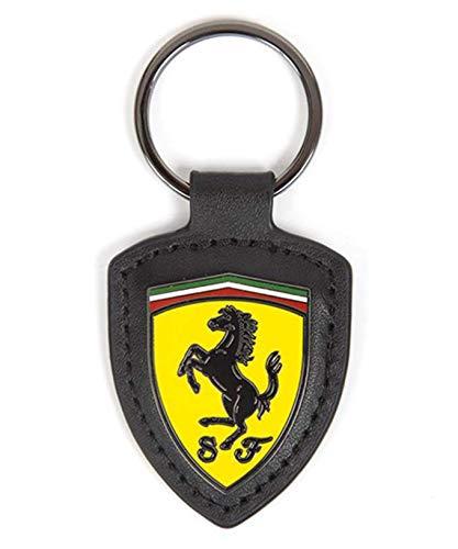 スクーデリア フェラーリ Ferrari オフィシャル SF レザー FOB キーリングの画像
