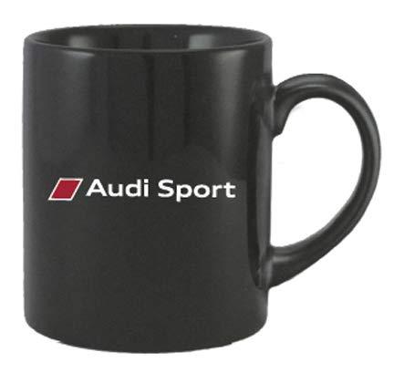 AUDI Audi Sport アウディー スポーツ オフィシャル マグカップ ブラックの画像