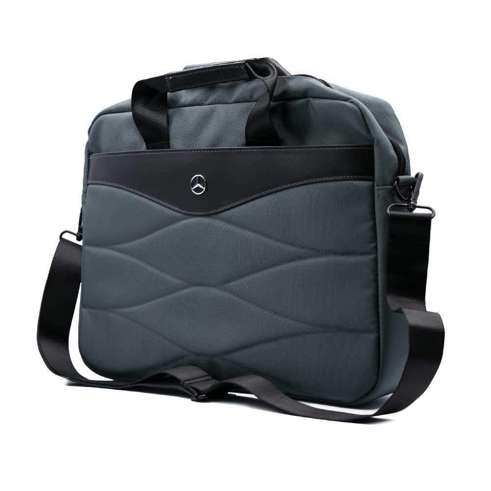 メルセデスベンツ オフィシャル ビジネスバッグ (コンピューターバッグ) グレーの画像